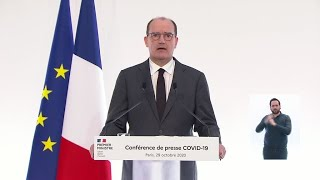 French PM details new restrictions as country heads back into lockdown