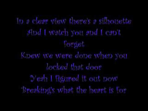Breakin' by The All American Rejects (with lyrics in video) mp3