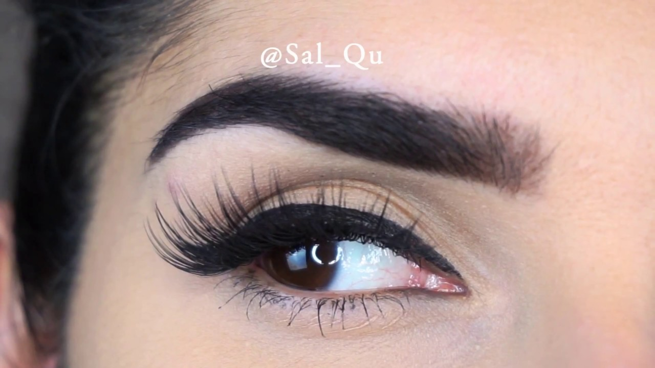 a51b3f76caa Try On of All Huda Beauty Lashes - Sal_Qu - YouTube