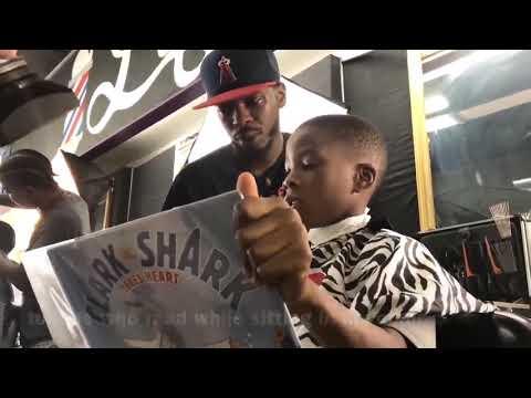 Barber started reading program to promote education