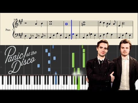 Panic! At The Disco - Always - Piano Tutorial + Sheets