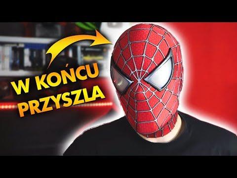 MASKA SPIDER-MANA ZA 3000ZŁ W KOŃCU PRZYSZŁA!