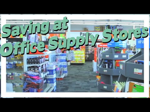 Saving at Office Supply Stores + Q&A Session