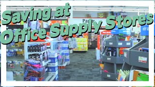 Saving At Office Supply Stores + Qu0026A Session