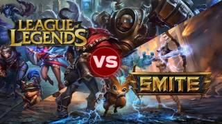 Lol vs Smite! ¿Cual es mejor juego?