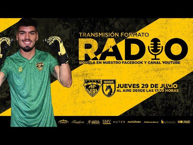 Fernández Vial vs Deportes Iquique   Fecha 2, Torneo de Ascenso 2021