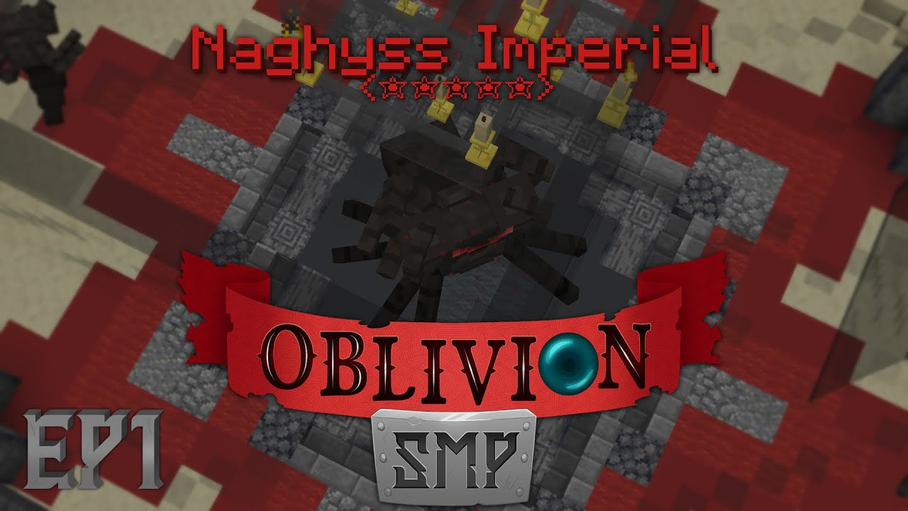 Oblivion SMP Ep1, La dungeon MÁS DIFÍCIL del servidor