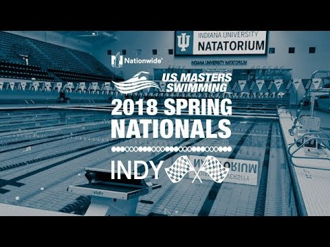 2018 Nationwide USMS Spring Nationals Day 4 Even Pool - 200 IM & 50 Freestyle
