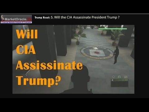 Will the CIA Assassinate President Donald Trump Like JFK?