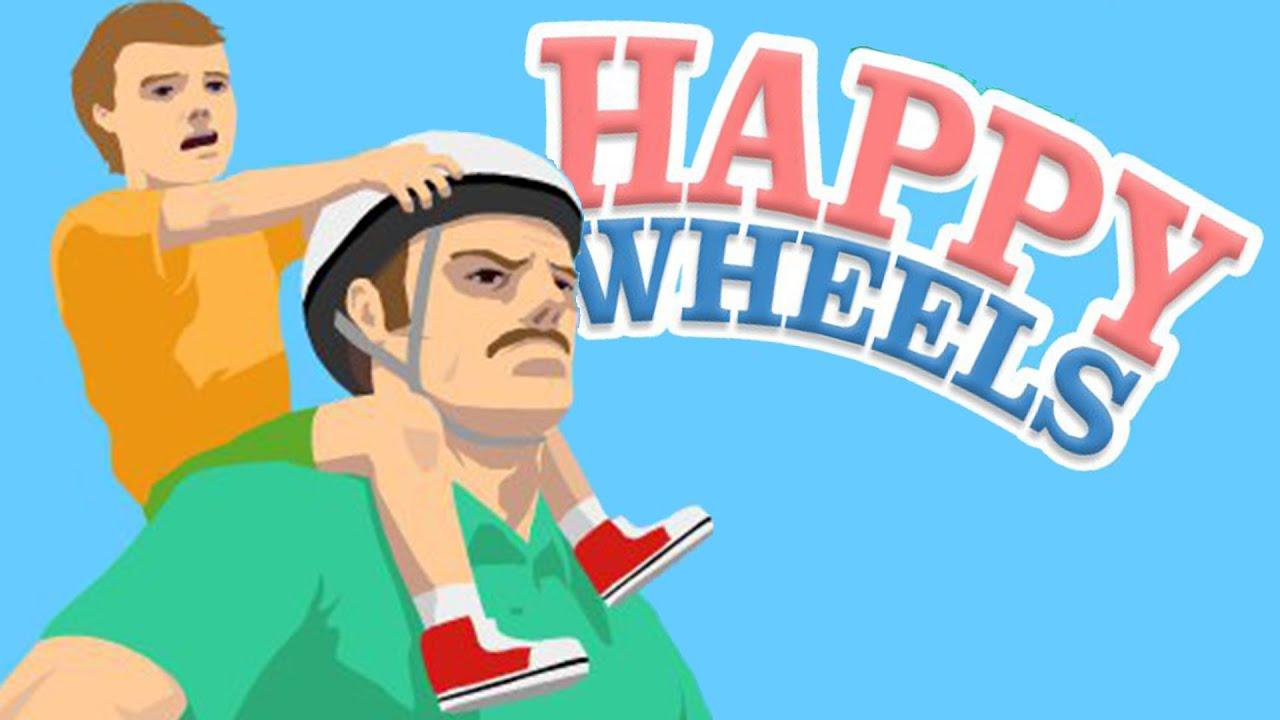 هابي ويلز لقد وقعنا في الفخ Happy Wheels Youtube
