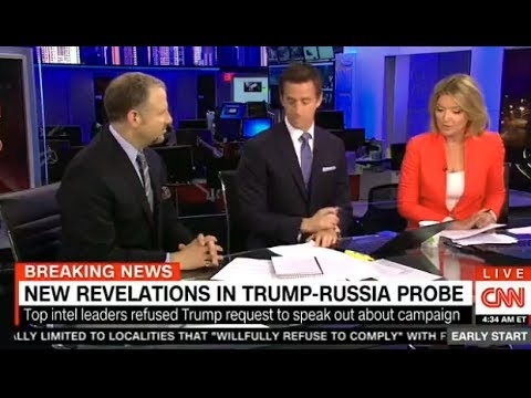 Early Start With Christine Romans and Dave Briggs 05/23/17: NEW REVALATIONS IN TRUMP-RUSSIA PROBE