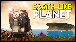Finding & Exploring an EARTH-LIKE Planet! (No Man