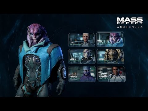 MASS EFFECT: ANDROMEDA | Combat Profiles & Squads...