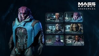 MASS EFFECT: ANDROMEDA | Combat Profiles & Squads | Official Gameplay Series - Part 2 thumbnail