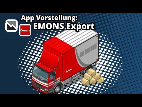 tricoma - Emons Export - Sendungen direkt aus tricoma übertragen
