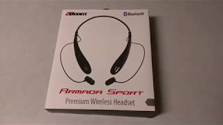 2Boom Armada Sport Bluetooth Headset - Unbox and Review !