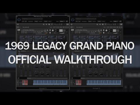 New 8Dio 1969 Legacy Grand Piano Walkthrough II