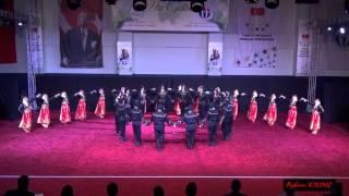 ÜNİVERSİTELER HALK OYUNLARI FİNAL (Stilize) YARIŞMA_GAZİANTEP 2014   Bülent Ecevit Ünv (Artvin)