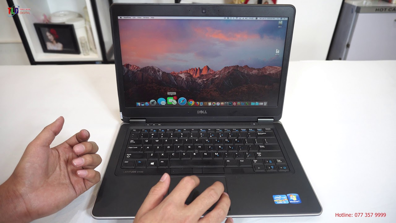 Trải Nghiệm Chiếc Dell Latitude E7440 Chạy Hệ Điều Hành Mac OS Tuyệt Vời
