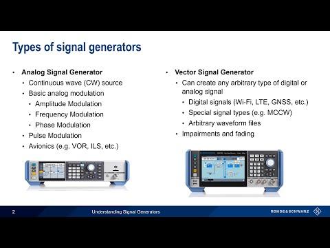 Understanding Signal Generators