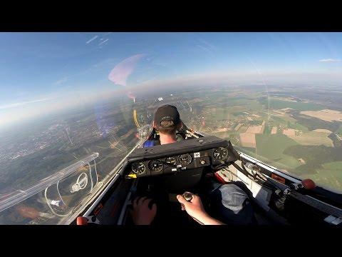 lot szybowcem puchacz 1300m AGL - Aeroklub Słupski