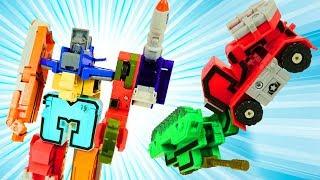 Игрушка ТРАНСФОРМЕР 👍 Собираем МЕГАРОБОТа из цифр (машинки ТРАНСБОТЫ) | Игры и игрушки для мальчиков