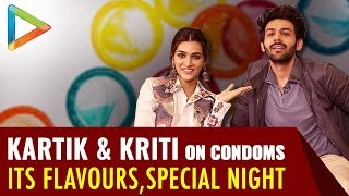 HILARIOUS: Kartik Aaryan and Kriti Sanon EXPLAIN the Meaning of PROTECTION & SPECIAL NIGHT