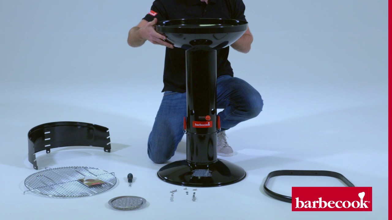 Barbecook Holzkohlegrill Carlo Test : How to assemble the barbecook loewy youtube