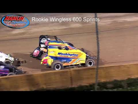 Rookie Wingless 600 Sprints - 6/15/19 Feature