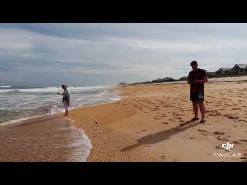 Drohne - Palm Coast, Florida - Letzter Flug am Cinnamon Beach