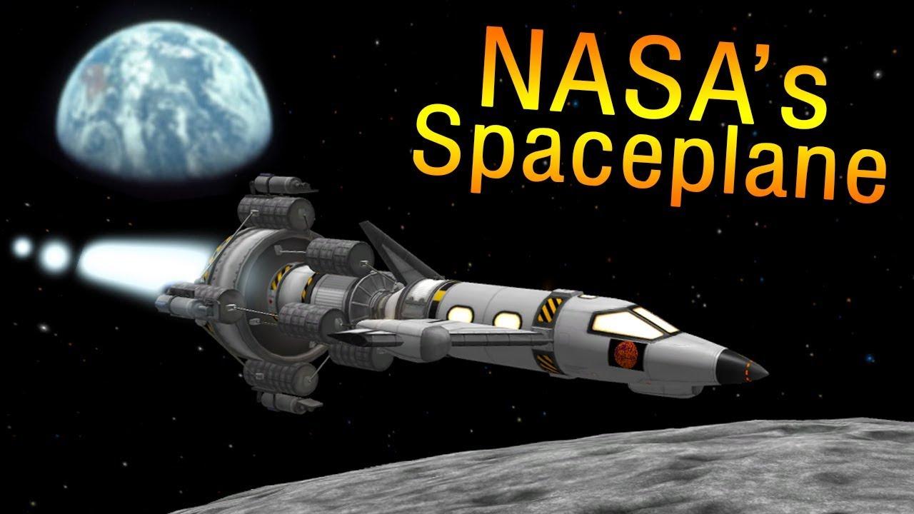 KSP: NASA's secret MOON Spaceplane that never flew - The ...