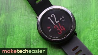 Xiaomi Amazfit Pace smart watch REVIEW