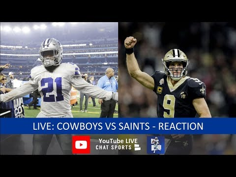 Cowboys Vs. Saints Live Stream Reaction & Updates On Highlights From Thursday Night Football 2018
