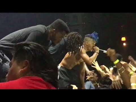 XXXTentacion - Everybody Dies In Their Nightmares (Live at Club Cinema in Pompano on 3/18/2018)