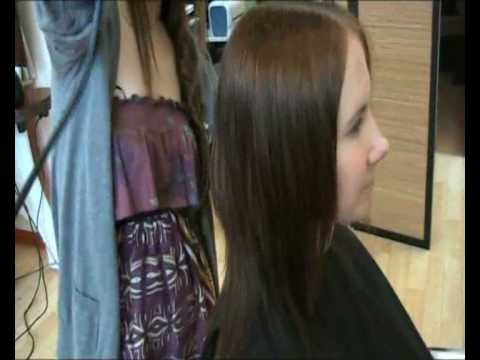 החלקה יפנית Japanese Hair Straightening Doovi