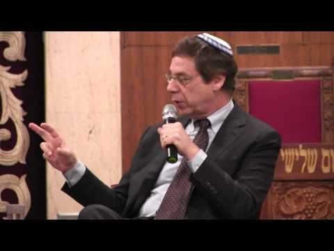 Danny Ayalon with David Suissa (2/4) at Cong Beth Jacob Bev Hills ...
