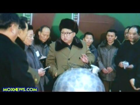 Kim Jong Un Says North Korea Has Miniaturized Nuclear Warheads!