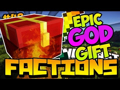 """Minecraft FACTIONS VERSUS """"EPIC GOD GIFT + PRESTON NO MORE AN ALLY?!"""" (Cosmic PVP Pleb Planet)"""