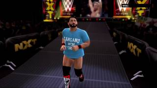 WWE 2K17 Community Showcase:Johnny Gargano by jamesslaiho(Xbox 360/PS3)