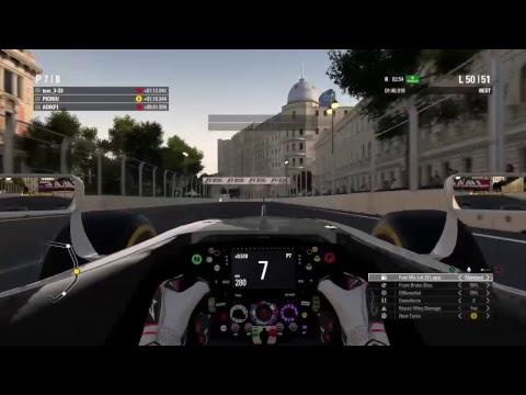 PIONIU's Live f1 Baku race
