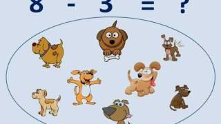 兒童學習 (Kids Learning) : 減數 (Subtraction) - 1 (廣東話版 , 香港版)