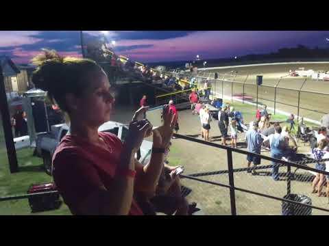 Econo stock heat #1 Grayson County Speedway 9-1-18