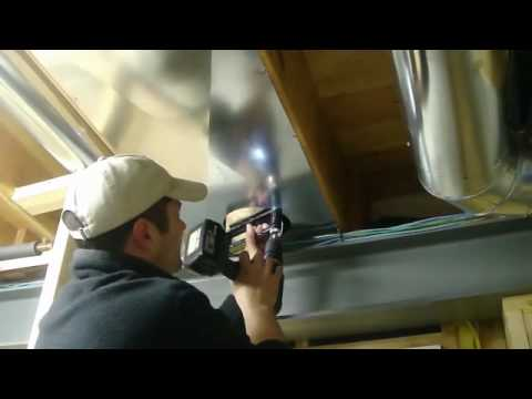 how to install return air duct