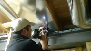 Installing Return Air Duct