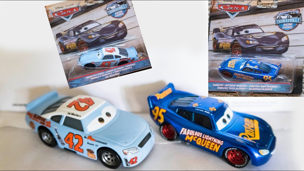 Disney Cars 3 Thomasville Racing Legends Diecast Cal Weathers