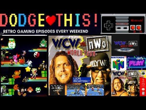 LUCAS MACKINTOSH LET'S PLAYS WCW VS NWO WORLD TOUR N64 POWDER KEG DOA WORLD HEAVYWEIGHT TITLE
