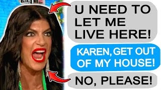 r/Entitledparents Karen GETS KICKED OUT of my House!