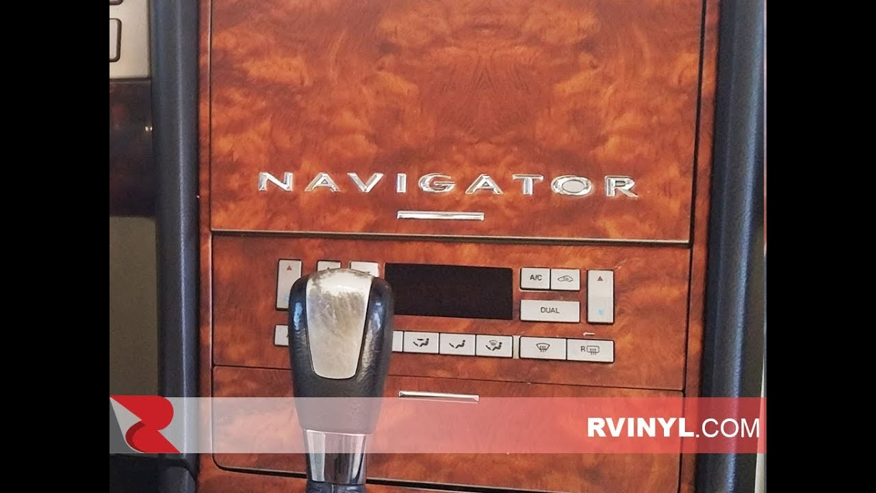 1999 lincoln navigator dash panel [ 1280 x 720 Pixel ]