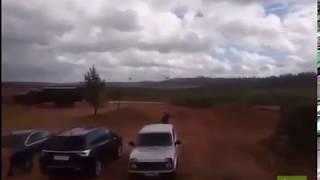 Во время военных учений «Запад-2017»  вертолёт попал ракетой по журналистам