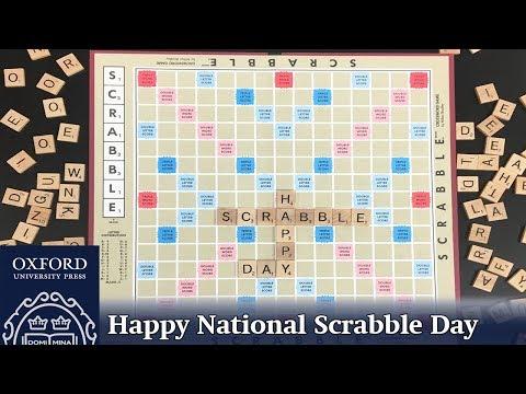 Oxford Academic Celebrates National Scrabble Day